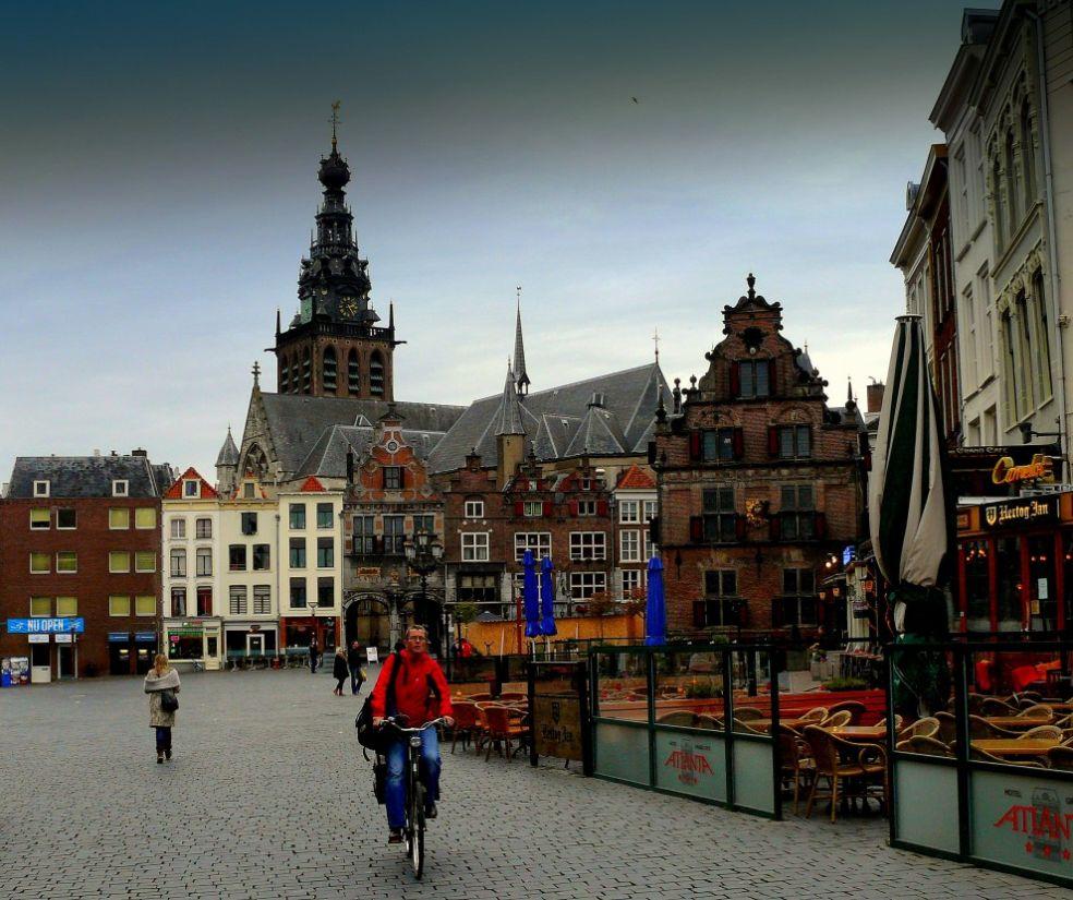 Старый город в Ниймегене