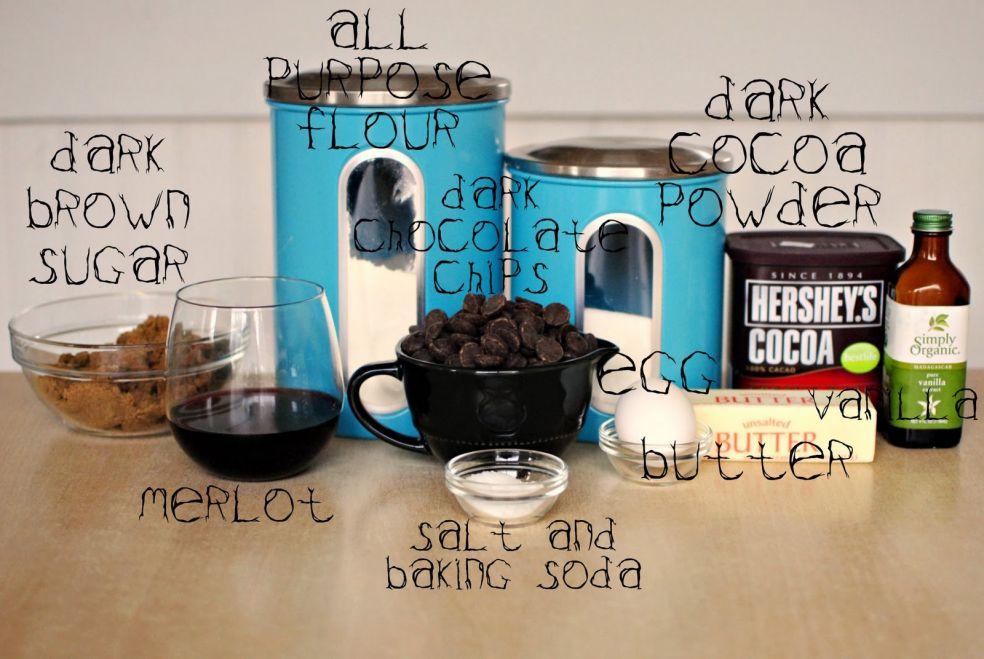 Двойные шоколадные печеньки фото-рецепт