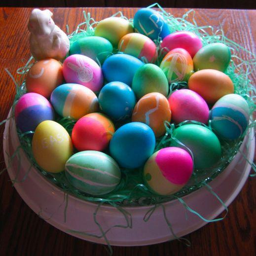 Пасхальные яйца: рукотворная красоты
