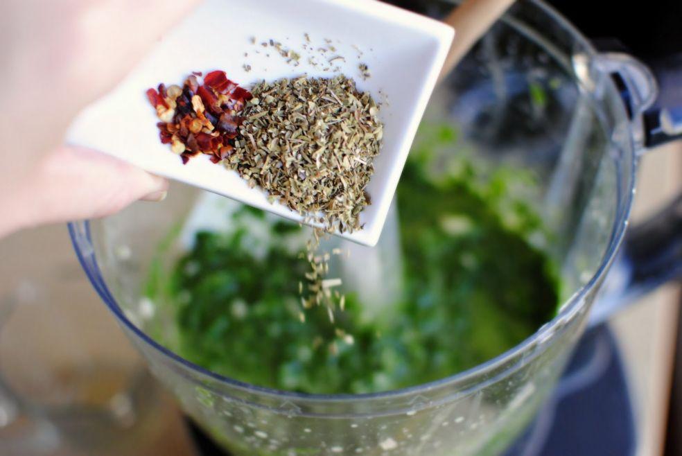 Фахитас со стейком в соусе чимичурри фото-рецепт
