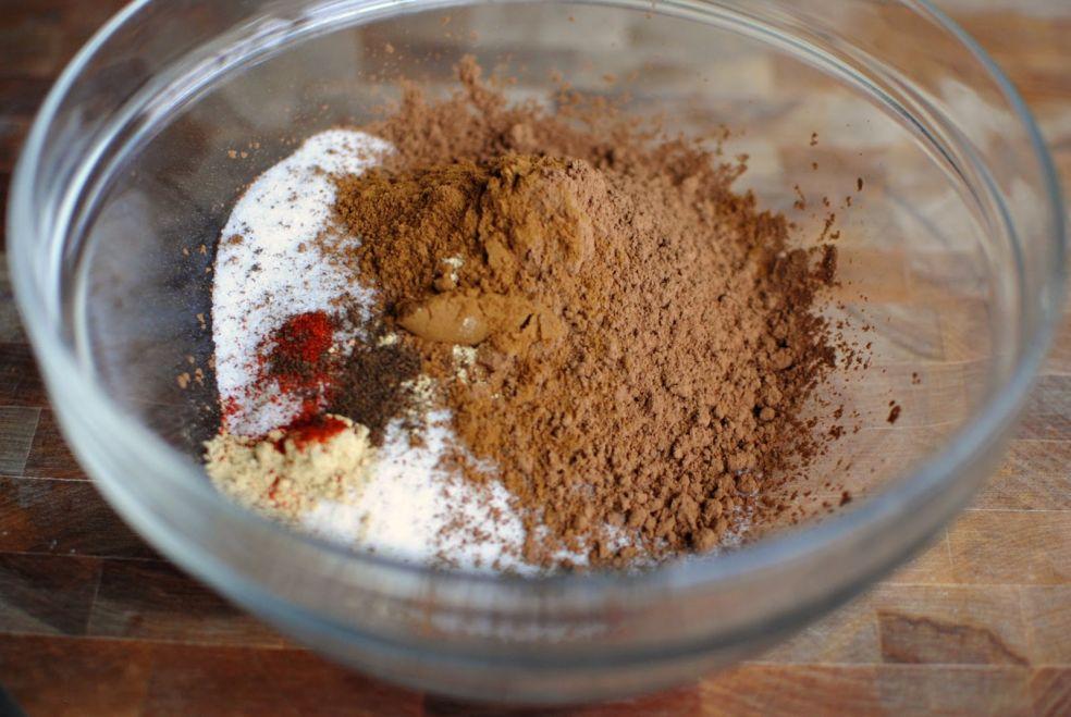 Орешки в шоколаде по-мексикански фото-рецепт