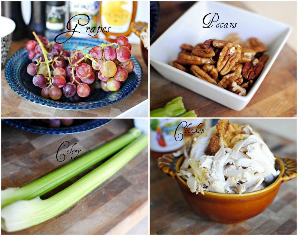 Майонез, соль и перец, маковые зернышки, яблочный уксус и мед