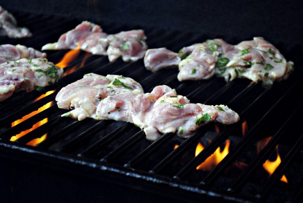 Куриные бедрышки, маринованные в пиве фото-рецепт