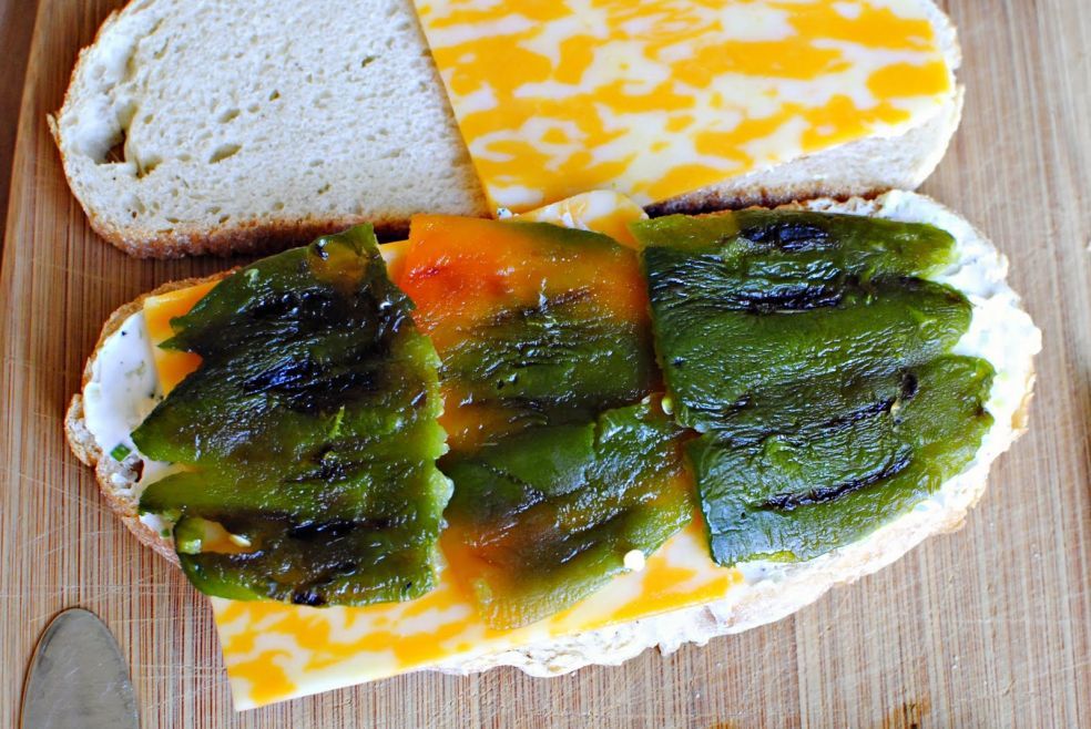 Сэндвичи запеченные с халапеньо фото-рецепт