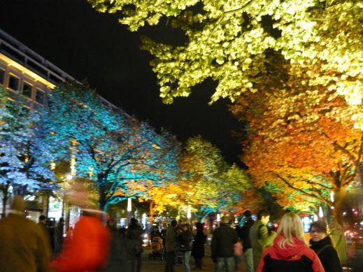 В Берлине стартовал фестиваль света