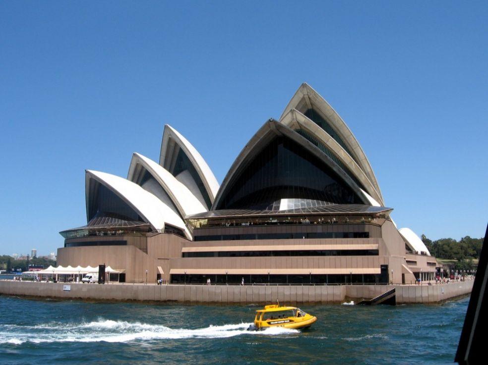 Австралийское водное такси