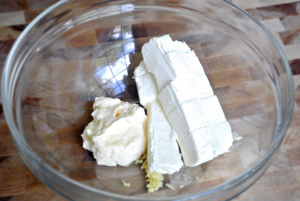 Сырная запеканка со шпинатом и артишоками фото-рецепт