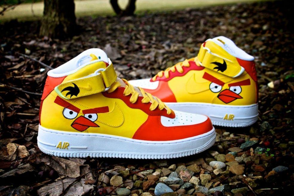 Кроссовки Nike Angry Bird