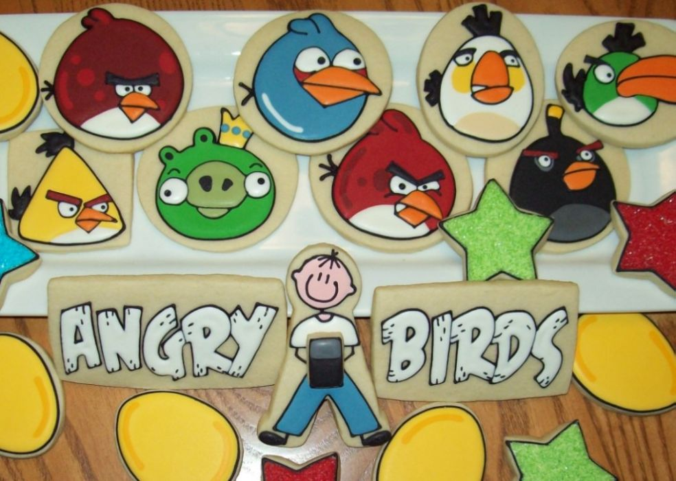 День Рождения злых птичек
