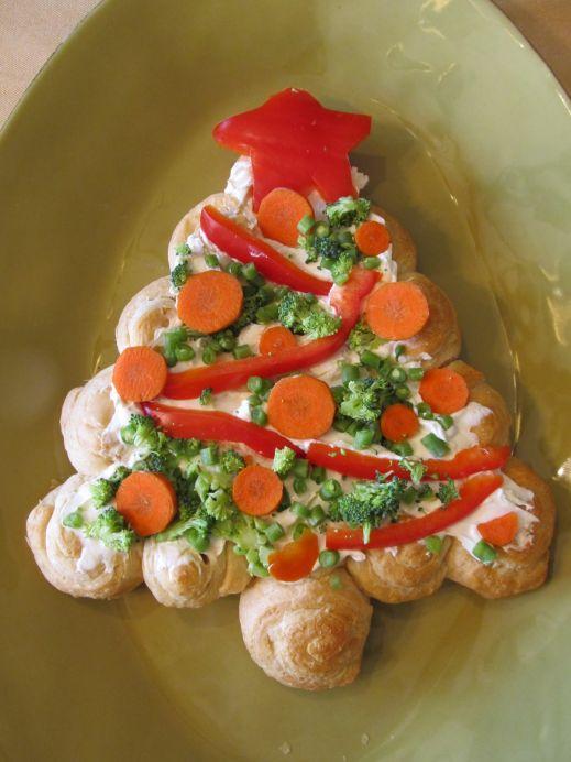 Съедобная елка – лучшее украшение новогоднего стола
