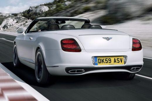 Bentley представила самый быстрый четырёхместный кабриолет